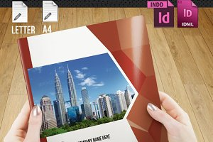 InDesign Brochure-18 pages-V86