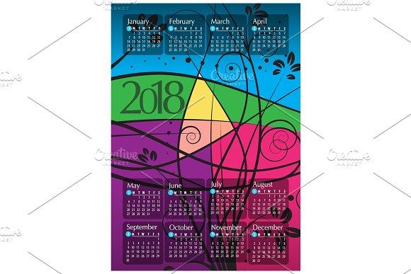 2018 Calendar14