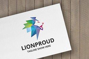 Lion Proud Logo