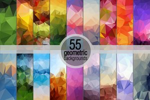 Geometric Backgrounds!!Mega Pack!!