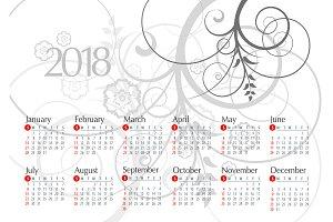 2018 Calendar15
