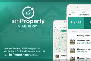 ionProperty - Mobile App UI KIT