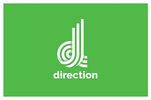 Direction Logo Template