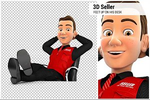 3D Seller Relaxing