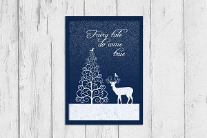 Quote poster - fairy tale print