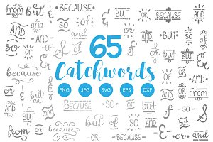 Ampersand and Catchword Bundle