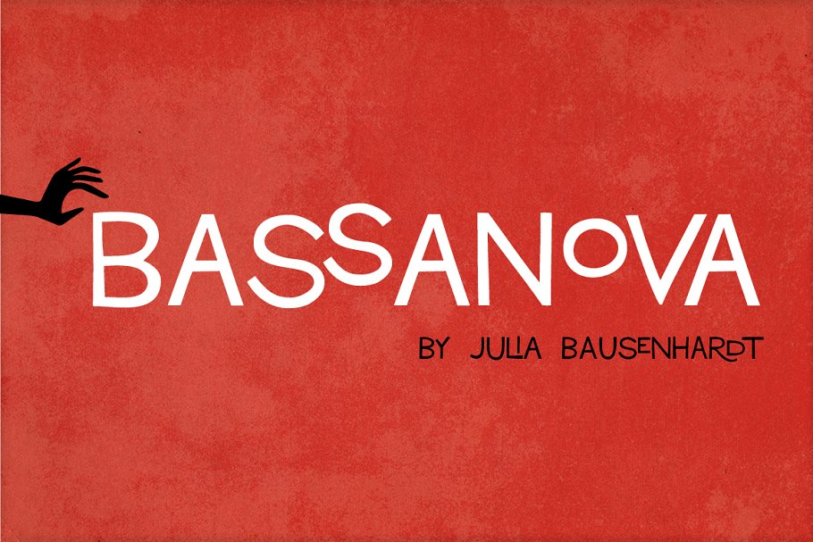 Bassanova ~ Display Fonts ~ Creative Market
