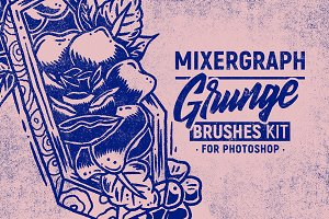 Grunge Brushes Kit