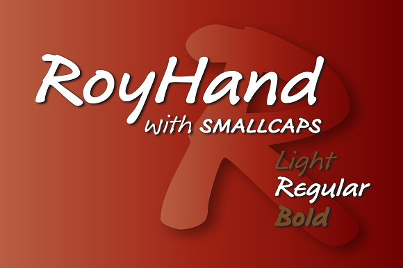Intro Sale RoyHand Regular