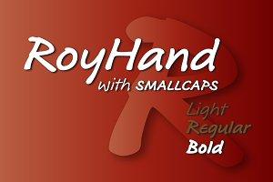 RoyHand Bold
