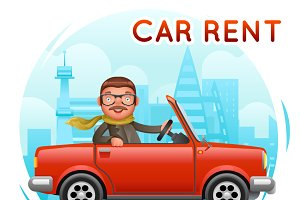Rent Car businessman