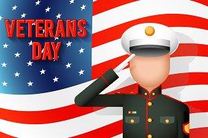 Veterans day american
