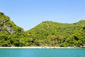 Front of Ko Wua Talap island