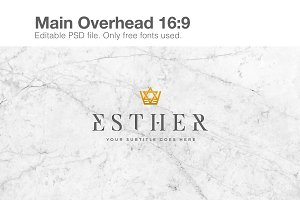 Esther Sermon Series Slides/Overhead