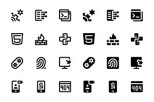 136 Web & Mobile Development Icons