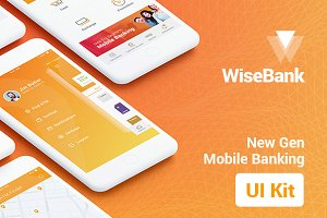 WiseBank iOS UI Kit