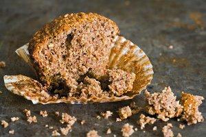 Half a muffin...
