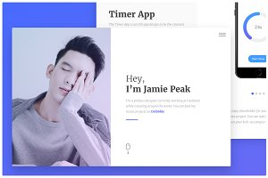 Screen - Minimal Portfolio Template