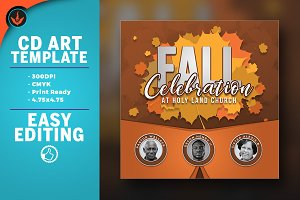 Fall Celebration CD Artwork