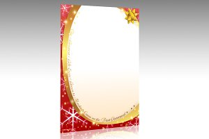 Christmas Package Stationery