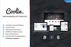 Coolin - Multipurpose Site Template