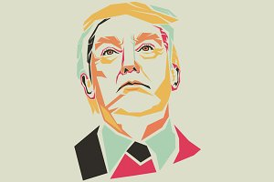 Donald Trump Pop Art
