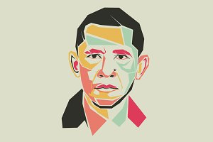 barack obama pop art
