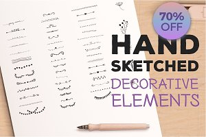 Hand Sketched Elements