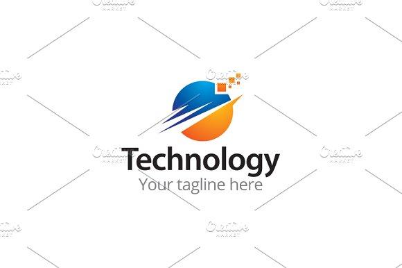 Technology Logo Logo Templates Creative Market