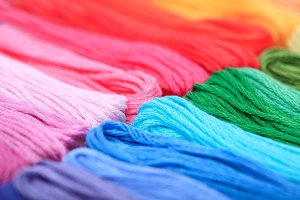 rainbow floss