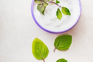 Herbal cosmetic skin cream