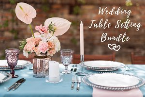 Wedding Table Setting Bundle