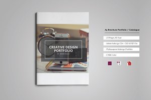 A5 Brochure Portfolio / Catalogue