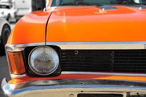 American classic muscle car