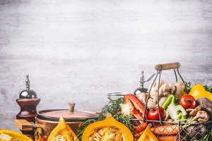 Cooking preparation of pumpkin dish