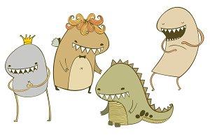 creatures vector