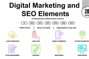 Digital Marketing and SEO Elements