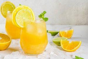 Summer citrus punch