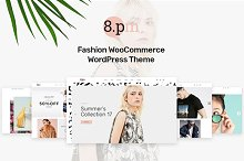 Eightpm - Fashion WordPress Theme by  in Commerce