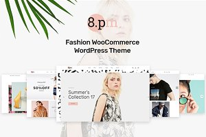 WordPress eCommerce Themes: Opal Wordpress Theme - Eightpm - Fashion WordPress Theme