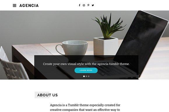 Agencia Tumblr Theme