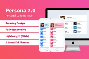 Persona - Your Personal Landing Page
