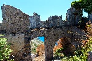 Ruins of Maratea. Italy