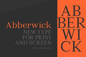 Abberwick - Modern Elegant Serif