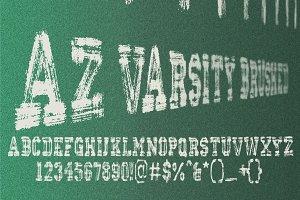 AZ Varsity Brushed