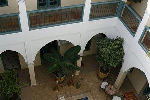 Traditional architecture in Morocco