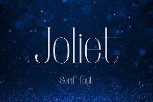 Joliet - Serif