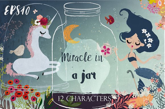 Miracle in a jar-Graphicriver中文最全的素材分享平台