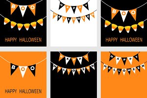 Happy Halloween Bunting flags