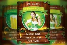 St Patricks Day Pub Flyer